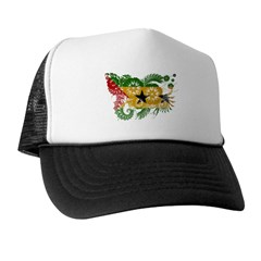 Sao Tome and Principe Flag Trucker Hat