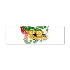 Sao Tome and Principe Flag Car Magnet 10 x 3