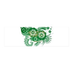Saudi Arabia Flag 21x7 Wall Peel