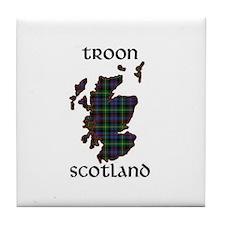 Cute Royal scots Tile Coaster