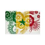 Senegal Flag Rectangle Magnet (100 pack)