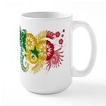 Senegal Flag Large Mug