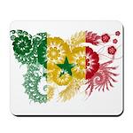 Senegal Flag Mousepad