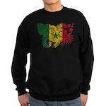 Senegal Flag Sweatshirt (dark)