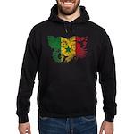 Senegal Flag Hoodie (dark)