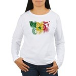 Senegal Flag Women's Long Sleeve T-Shirt