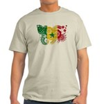 Senegal Flag Light T-Shirt
