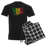 Senegal Flag Men's Dark Pajamas