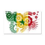 Senegal Flag Car Magnet 20 x 12