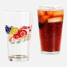 Seychelles Flag Drinking Glass