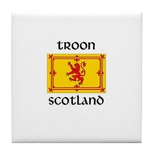 Cute Royal scots Tile Coaster