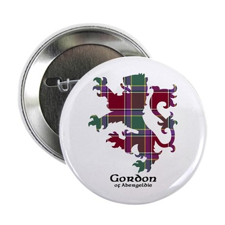 "Lion - Gordon of Abergeldie 2.25"" Button"