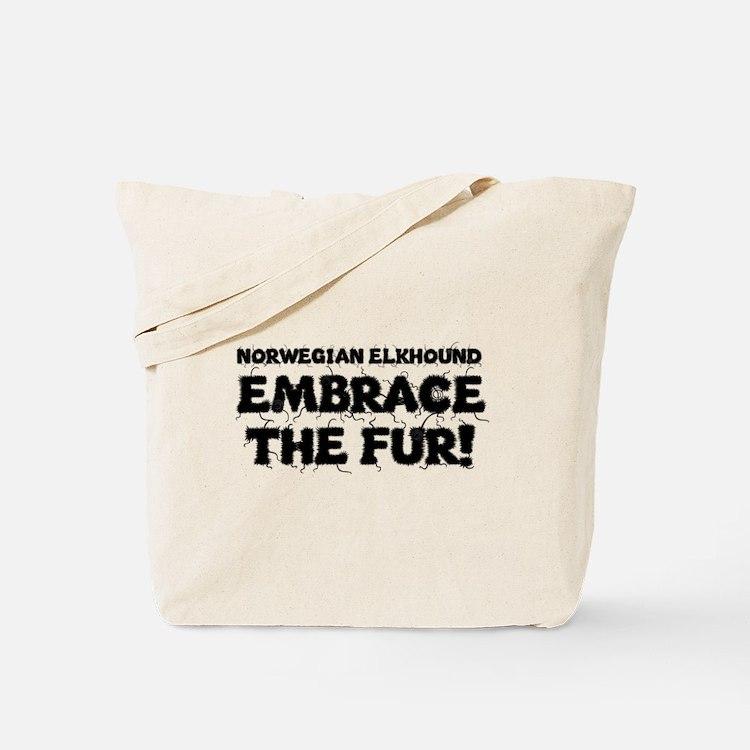 Norwegian Elkhound Tote Bag