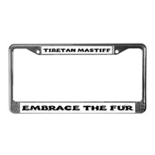 Tibetan Mastiff License Plate Frame