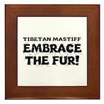 Tibetan Mastiff Framed Tile