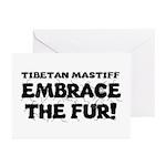 Tibetan Mastiff Greeting Cards (Pk of 20)