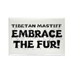 Tibetan Mastiff Rectangle Magnet (100 pack)