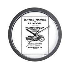 Velocette LE Wall Clock