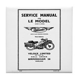 Velocette Drink Coasters