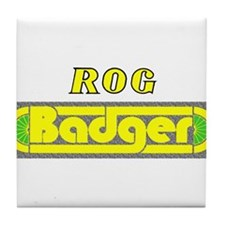 Rog Badger Tile Coaster