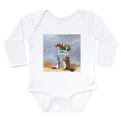 Beach Patrol Long Sleeve Infant Bodysuit
