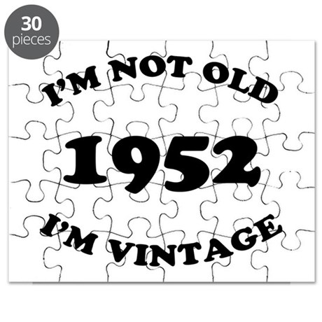 1952 Not Old, Vintage Puzzle
