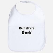 REGISTRARS  Rock Bib