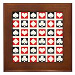 Deck of Cards Framed Tile
