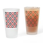 Deck of Cards Drinking Glass