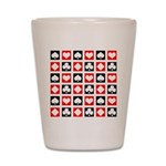Deck of Cards Shot Glass
