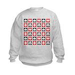 Deck of Cards Kids Sweatshirt