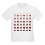 Deck of Cards Kids Light T-Shirt