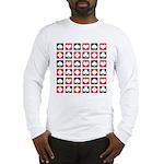 Deck of Cards Long Sleeve T-Shirt