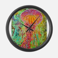 Unique Jellyfish Large Wall Clock