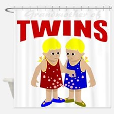 Grandmother of twins Shower Curtain