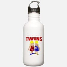 Grandmother of twins Water Bottle