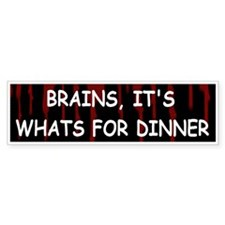 Funny World war z ,ovie Bumper Sticker
