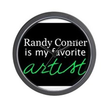 Randy Conner is my favorite a Wall Clock