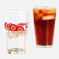 Singapore Flag Drinking Glass