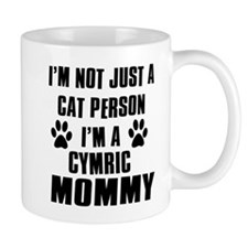 Cymric Cat Design Mug