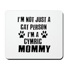 Cymric Cat Design Mousepad