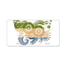Sierra Leone Flag Aluminum License Plate