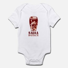 Brown Salsa Force Infant Creeper