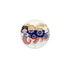 Slovenia Flag Mini Button (100 pack)