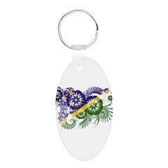 Solomon Islands Flag Keychains