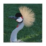 Crowned Crane Tile Coaster