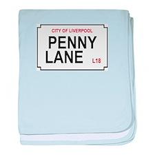 """Penny Lane"" baby blanket"