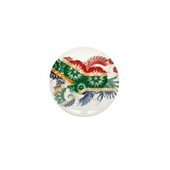 South Africa Flag Mini Button (10 pack)
