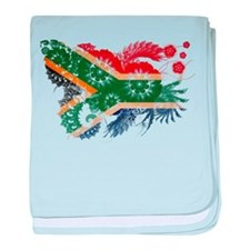 South Africa Flag baby blanket