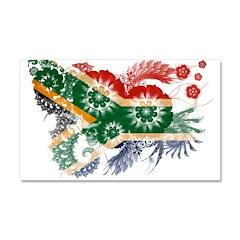 South Africa Flag Car Magnet 20 x 12